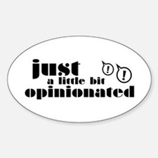 Opinionated Decal