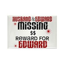 Husband & Edward Missing TWILIGHT Rectangle Magnet