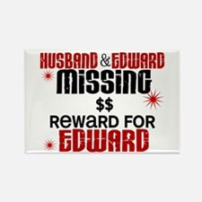 Husband & Edward Missing TWILIGHT Rectangle Magnet