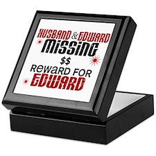 Husband & Edward Missing TWILIGHT Keepsake Box