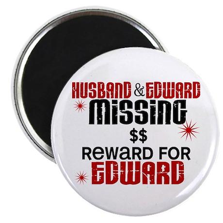 """Husband & Edward Missing TWILIGHT 2.25"""" Magnet (10"""