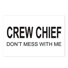 Crew Chief Postcards (Package of 8)