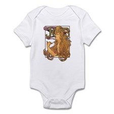 Alphonse Mucha JOB Infant Bodysuit
