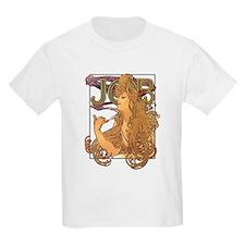 Alphonse Mucha JOB T-Shirt