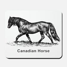 Canadian Horse Mousepad