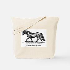 Canadian Horse Tote Bag