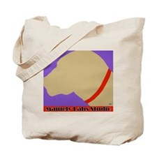 Yellow Lab Profile Tote Bag
