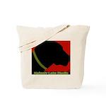Black Lab Profile Tote Bag