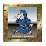 Singing Nun Tile Coaster