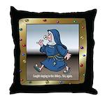 Singing Nun Throw Pillow