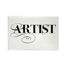 ARTIST Rectangle Magnet