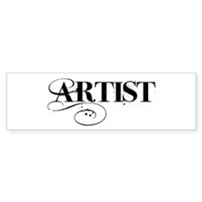 ARTIST Bumper Sticker