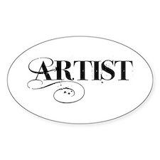 ARTIST Decal