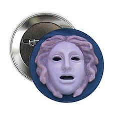 Blue Medusa Button