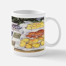 Fruit Stand by Caillebotte Mug