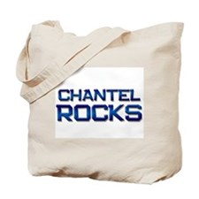 chantel rocks Tote Bag