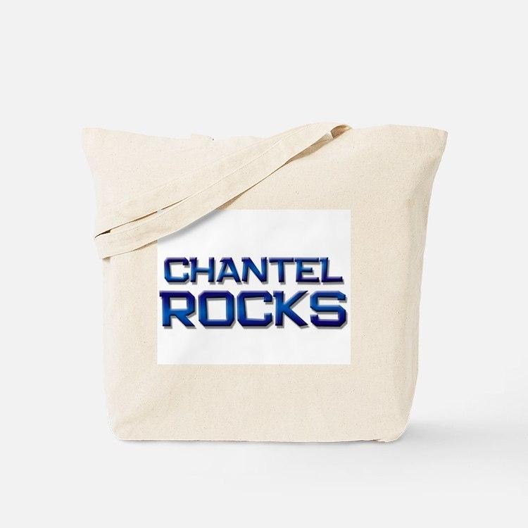 chantel rocks Tote Bag