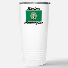 Blaine Washington Stainless Steel Travel Mug