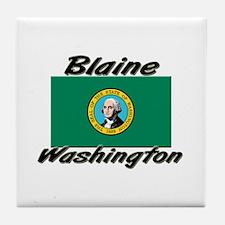 Blaine Washington Tile Coaster