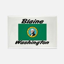 Blaine Washington Rectangle Magnet