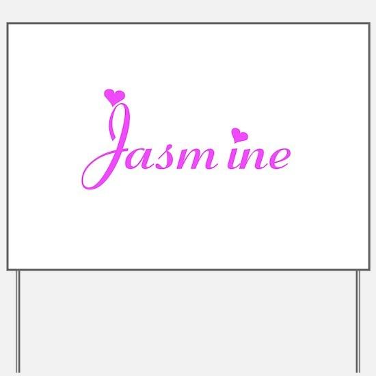 Cool Jasmine Yard Sign