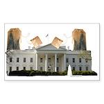 Teabag The White House Rectangle Sticker