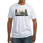 Teabag The White House Fitted T-Shirt