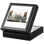 Teabag The White House Keepsake Box