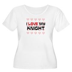 I Love My Knight T-Shirt