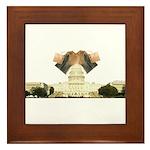 Teabag The Capitol Framed Tile