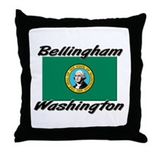 Bellingham Washington Throw Pillow