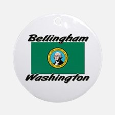 Bellingham Washington Ornament (Round)