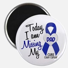 """Missing My Dad 1 CC 2.25"""" Magnet (10 pack)"""