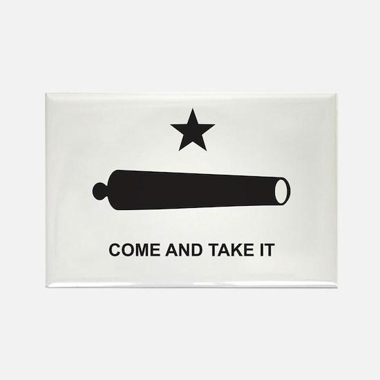 Battle of Gonzales Flag Rectangle Magnet (10 pack)