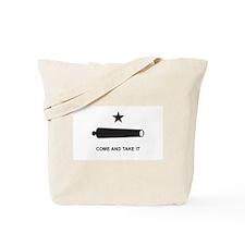 Battle of Gonzales Flag Tote Bag