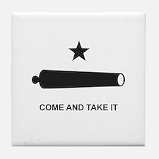 Battle of Gonzales Flag Tile Coaster