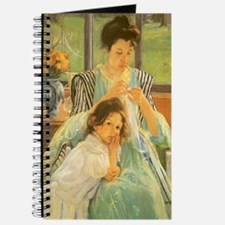 Young Mother Sewing by Cassatt Journal