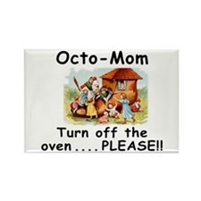 Turn off OctoMom Rectangle Magnet