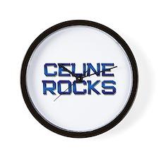 celine rocks Wall Clock
