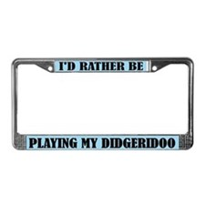 Play The Didgeridoo License Frame
