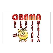 Obama one big ass mistake America Postcards (Packa
