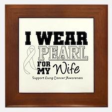 IWearPearl Wife Framed Tile