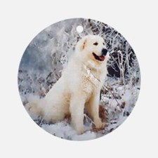 Great Pyrenees Christmas Ornament , Winterwood
