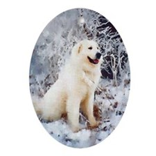Great Pyrenees Christmas Ornament (ov),Winterwood