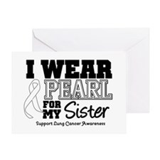 IWearPearl Sister Greeting Card