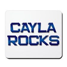 cayla rocks Mousepad