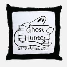 Ghost Hunter Throw Pillow