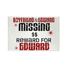 Boyfriend & Edward Missing TWILIGHT Rectangle Magn