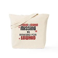 Boyfriend & Edward Missing TWILIGHT Tote Bag