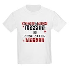 Boyfriend & Edward Missing TWILIGHT T-Shirt